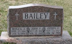 Esther O. <i>Petersen</i> Bailey