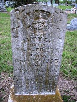 Lucy Ellen <i>Witt</i> Frisby