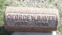 George W Baver