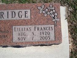 Lillias Frances Walbridge