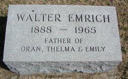Walter Emrich