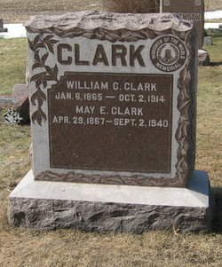 May Elizabeth <i>Jones</i> Clark