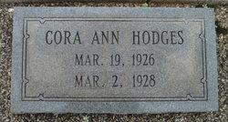 Cora Ann Hodges