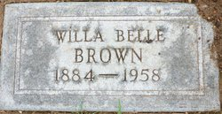 Willa Belle <i>Thompson</i> Brown