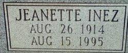 Jeanette Inez <i>Gaddy</i> Brown