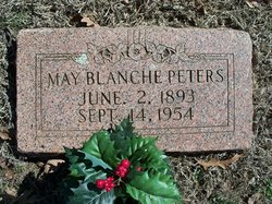 May Blanche <i>Denney</i> Peters