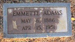 Emmette Adams