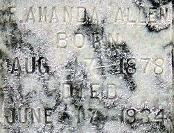 Eliza Amanda Mandie <i>Billings</i> Allen