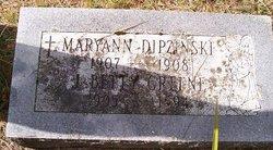 Josephine Bertha Betty <i>Dipzinski</i> Greene