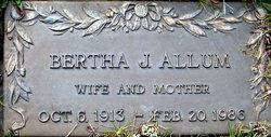 Bertha <i>White</i> Allum