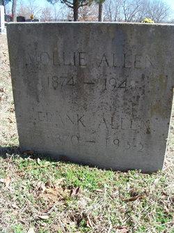 Mollie <i>Holmes</i> Allen