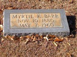 Myrtie K. Barr