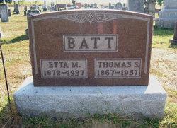 Etta May <i>Hoar</i> Batt