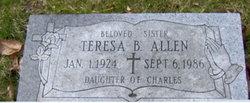Teresa B <i>Schenck</i> Allen