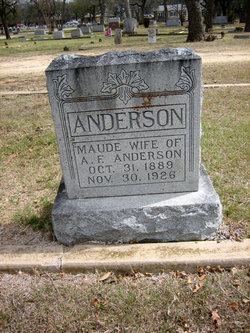 Medara Maude <i>Crunk</i> Anderson