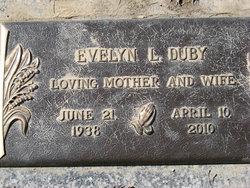 Evelyn L <i>Kelley</i> Duby