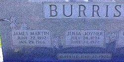 James Martin Mart Burris