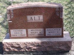 Mary A <i>Lavin</i> Alt