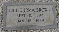 Lillie Irma <i>Burel</i> Brown