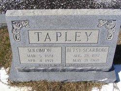 Betsey <i>Scarboro</i> Tapley