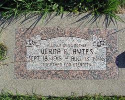 Verna Elizabeth <i>Stever</i> Aytes