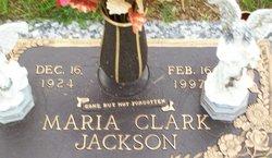 Maria <i>Clark</i> Jackson