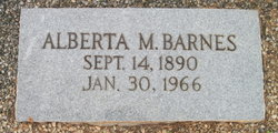 Alberta M. Barnes