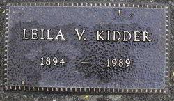 Leila Valentine <i>Sperry</i> Kidder