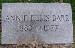 Annie W. <i>Ellis</i> Barr