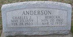 Rebecka <i>Carlson</i> Anderson