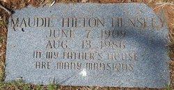 Maudie <i>Hilton</i> Hensley