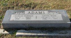 Leota <i>Webb</i> Adams