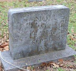 Mary Elizabeth Mollie <i>Griffin</i> Madden