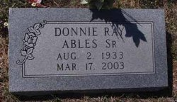 Donnie Ray Ables, Sr