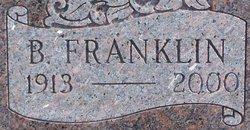 Benjamin Franklin Isgrigg