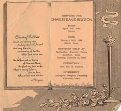 Charles Davis Hub Booton