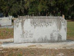 Alta P. Ashurst, Sr