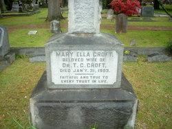 Mary Ella <i>Chafee</i> Croft