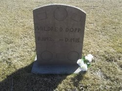 Mildred D <i>Ormsby</i> Dopp