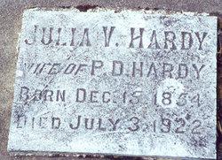 Julia V Hardy