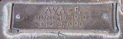 Ava Frances <i>Baldwin</i> Burnett
