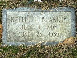 Nellie L Blakley
