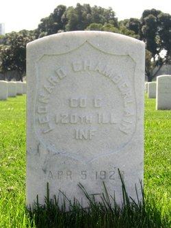 Pvt Leonard Chamberlain