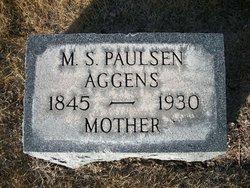 Matilda S <i>Paulsen</i> Aggens