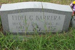 Fidel G Barrera