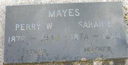 Sarah Ellen <i>Barker</i> Mayes