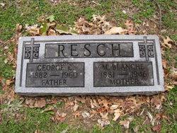 Mary Blanche Blanche <i>Greenwell</i> Resch