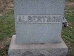 Bertha P Albertson
