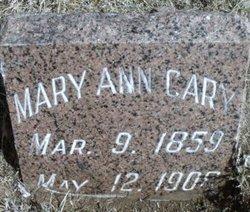 Mary Ann <i>Westbrook</i> Cary