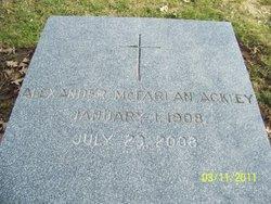 Alexander McFarlan Ackley
